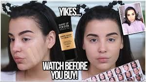 makeup forever matte velvet skin review jidimakeup