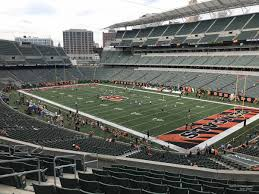 Paul Brown Stadium Section 202 Rateyourseats Com