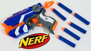 Light Blue Nerf Guns Nerf N Strike Elite Firestrike Blaster With Laser Beam Targeting