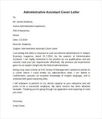 office assistant cover letter administrative assistant cover letter samples fresh administrative