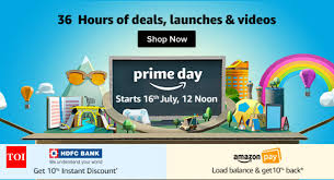 amazon prime day offer get upto 50 on mobiles electronics fashion other stuff