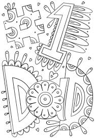 Small Picture 1 Dad Doodle coloring page Free Printable Coloring Pages