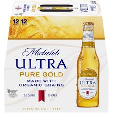 michelob ultra pure gold superior light beer