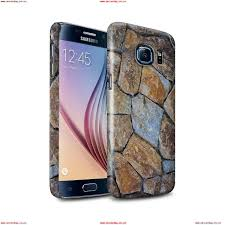 stuff4 gloss snap case for samsung galaxy s6 g920 small stone wall stone