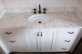 carrera marble countertop bathroom vanity bathrooms white carrara per square foot