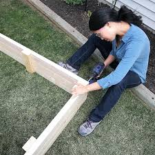 how to build a raised garden bed with legs. How To Build Elevated Garden Beds Assembling The Raised Bed Frame Diy Bricks . A With Legs