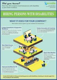 sg enable why hire persons disabilities the poster shows the different business cases and reasons to hire persons disabilities
