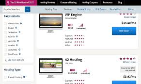 Website Hosting Comparison Chart Web Hosting Plans Which Host Is Best For You Your Website
