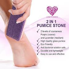 Love Pumice <b>2 in 1 Pumice</b> Stone for Feet, Hands and Body, (Pack ...