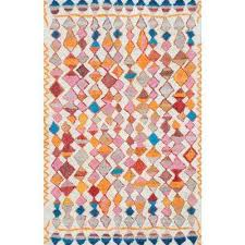 moroccan helaine gy multi 5 ft x 8 ft area rug