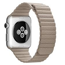 apple apple watch band 42mm stone leather loop medium 150 185mm wsl cayman mac t a alphasoft