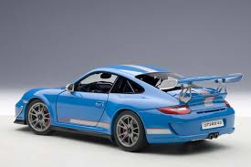 AUTOart die-cast model Porsche 91(997) GT3 RS 4.0, Blue 78145 die ...