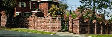 Small Picture Brick Fence Ideas Recycled Brick Fence with Concave Brick on