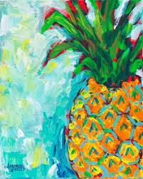 pineapple painting. pineapple painting