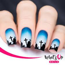 free graveyard nail stencils from nail polish canada