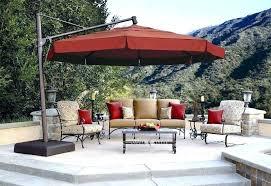 patio umbrella cantilever umbrellas cantilevered club outdoor sams c coast offset with detachable