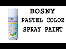 Bosny Spray Paint Color Chart Philippines Bosny Ph Pastel Color