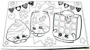 Kawaii Coloring Pages Printable Book Colouring Food Free Page Cute