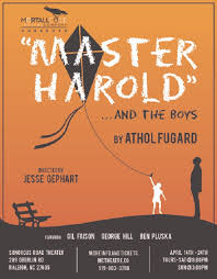 mortall coile theatre company s master harold and the boys is  master harold