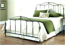 Queen Size Iron Bed Frames King Size Iron Bed Size Metal Headboard ...