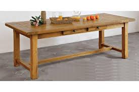 farmhouse table with leaves. Farmhouse French Mountain Oak Table With Drawers - Optional End Leaves Footrail