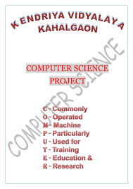Science Project Report Fascinating CS Project Report On Railway Ticket Reservation