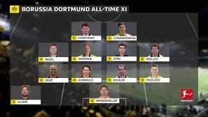 The debut music video for our new singl. Bundesliga Borussia Dortmund S All Time Top Xi Featuring Jurgen Klopp Robert Lewandowski And Marco Reus