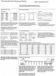 traverse curtain rod information info pg