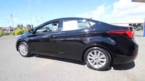 hyundai elantra 2016 black. Fine Elantra 2016 Hyundai Elantra  Black Diamond GU490727 Mt Vernon Skagit   YouTube On N
