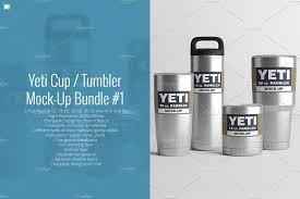 18Oz. Yeti Cup / Tumbler Mock-Up #2 ~ Product Mockups ~ Creative Market