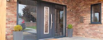 panoramic plus slider contemporary front doors