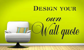 Small Picture Make Your Own Wall Art Stickers Home Design