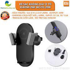 Đế sạc không dây ô tô Xiaomi ZMI WCJ10 20W - Bảo hành 1 tháng - Shop Thế  Giới Điện Máy Thế giới điện máy - đại lý xiaomi chính hãng tại Việt Nam