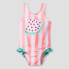 Cat & Jack Swim   Baby Watermelon Suit   Poshmark