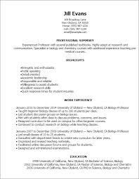 Resume Template Styles Resume Templates Myperfectresume In Perfect