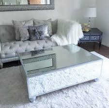 diy mirrored coffee table for less than 200 diamantes tacones throughout mirror inspirations 7