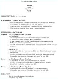 Combination Resume Template Best Of Correct Format For A Resume