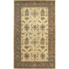 Garland Rug Washable Room Size Bathroom Carpet Basin Blue 5 ft. x ...