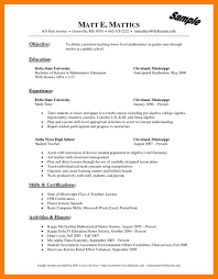 8 Resume Templates Wordpad Self Introduce