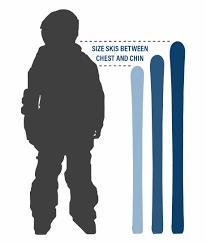 Ski Length Height Chart Kids Ski Sizing Kids Ski Size Chart Kids Playing