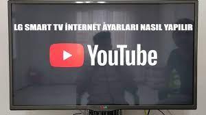 LG smart tv internet ayarları nasıl yapılır - YouTube