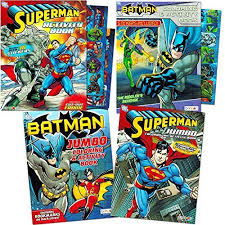 Zack snyder does a great job making everything look great which to me is the most important aspect in a movie like this. Batman V Superman Coloring Book Super Set With Stickers 4 Jumbo Books Over 250 Pages Total Featuring And Superman By Educational Toys Planet