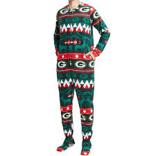 Green Bay Packers Unisex Coil Fleece Union Suit At The