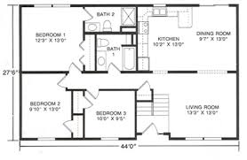 Floor Plans For Raised Ranch Style Homes - Google Search  Pinterest