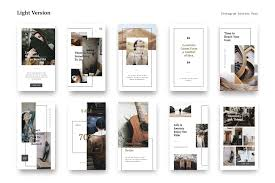 Instagram Design Instagram Stories Pack By Pande On Creativemarket Design