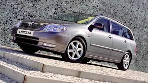Toyota Corolla Wagon '2001–04 - YouTube