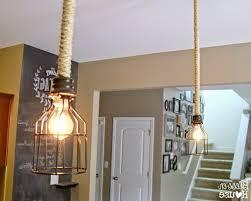 gorgeous diy farmhouse pendant light fixtures for under 10 photo