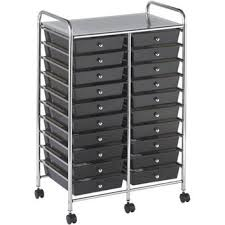 makeup organizer drawers walmart. ecr4kids 20 drawer double wide mobile organizer walmart makeup organizers drawers