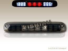 99 06 chevy silverado gmc sierra 3rd led tail brake cargo light 99 06 chevy silverado gmc sierra 3rd led tail brake cargo light smoke