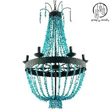 blue beaded chandelier cottage furnishings coastal accessories furniture navy blue beaded chandelier turquoise corner